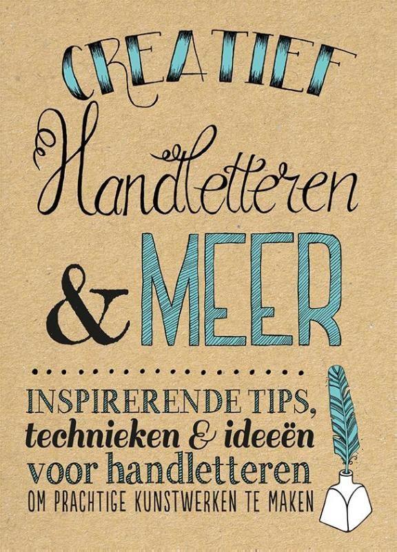 Creatief handletteren & meer.  Inspirerende tips, technieken & ideeën.  Maak prachtige, met de hand geschreven kunst en objecten. Dit (interactieve) boek staat vol creatieve voorbeelden, leuke oefeningen en eenvoudige stap-voor-stap projecten. Je ontdekt hoe je woorden en letters door middel van hedendaagse kalligrafie en verluchting, illustratie en schrijven met krijt verandert in adembenemende projecten die je kunt gebruiken als cadeau, woningdecoratie en meer. Je leert onder meer h...