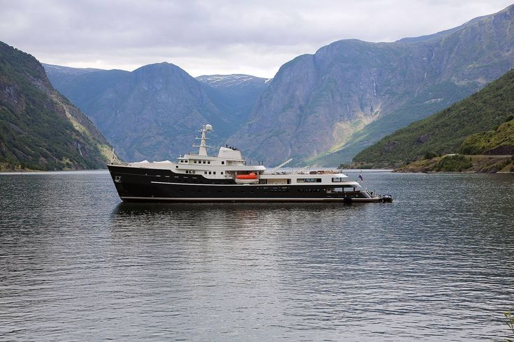 Launched at Icon Yachts in Harlingen in March 2016, 77.4m yacht Legend has left Holland two weeks ago for her maiden voyage. Since then the icebreaking yacht has been seen in Norway.