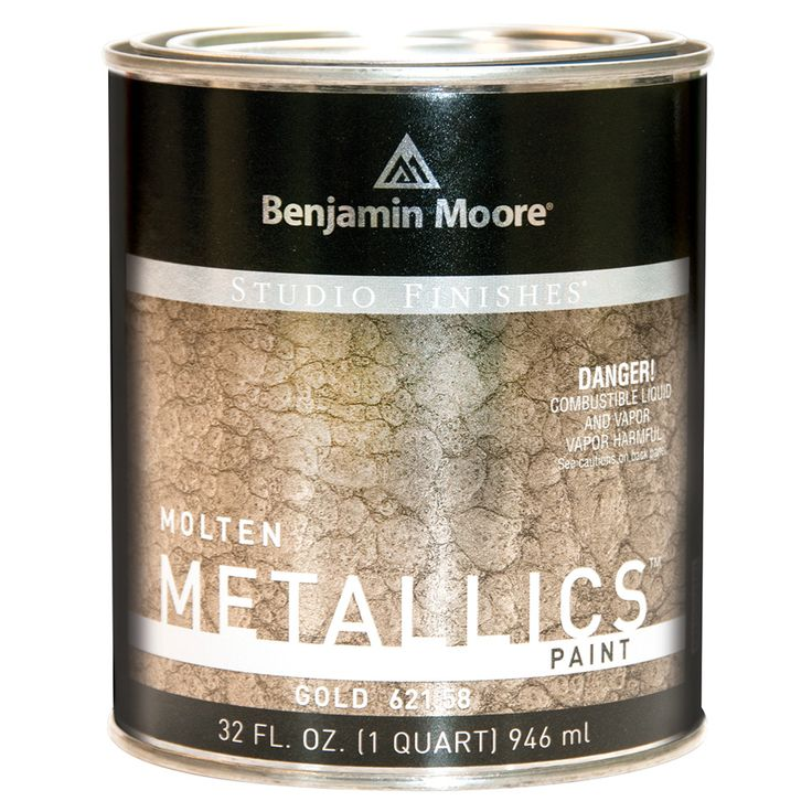 Benjamin Moore Molten Metallics - QUART