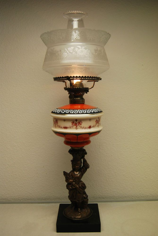 497 best Antique/Vintage Oil Lamps images on Pinterest | Vintage ...