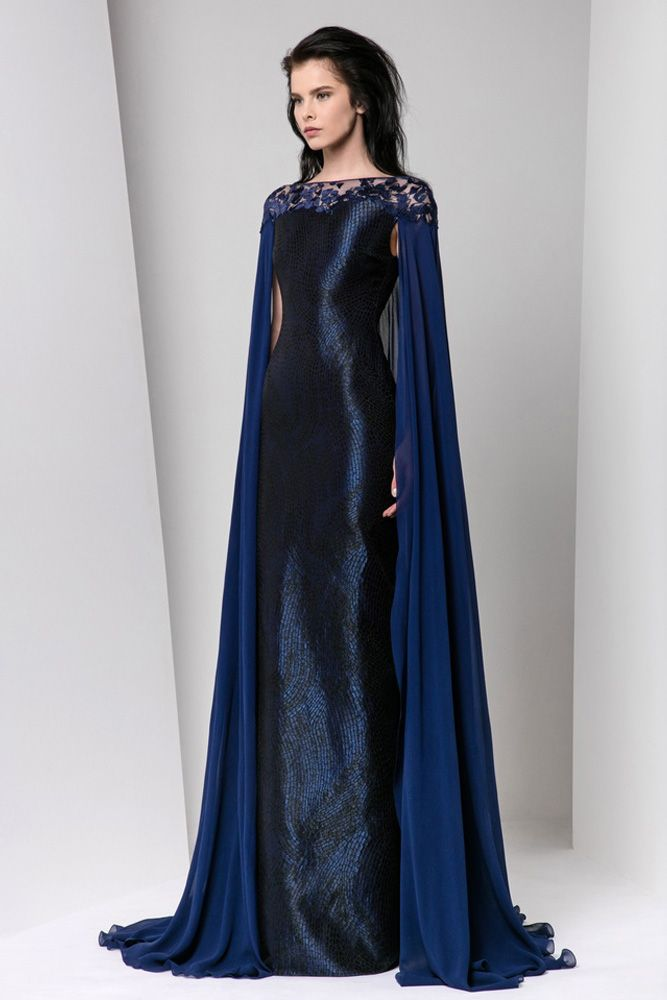 Harry Potter Ravenclaw House Style dress robes by Tony Ward (Fall/Winter 16/17)