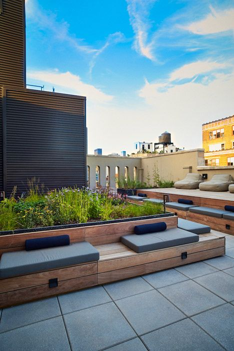 NYC Rooftop Terrace designed by Piet Oudolf