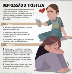 Entendendo a diferença entre Depressão x Tristeza