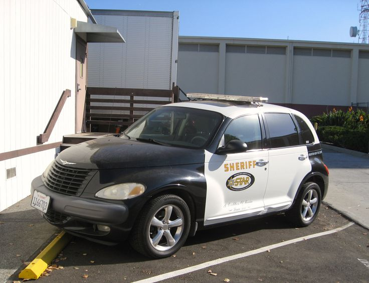 LA County Sheriff PT Cruiser/ Halarious! We love our pt's.