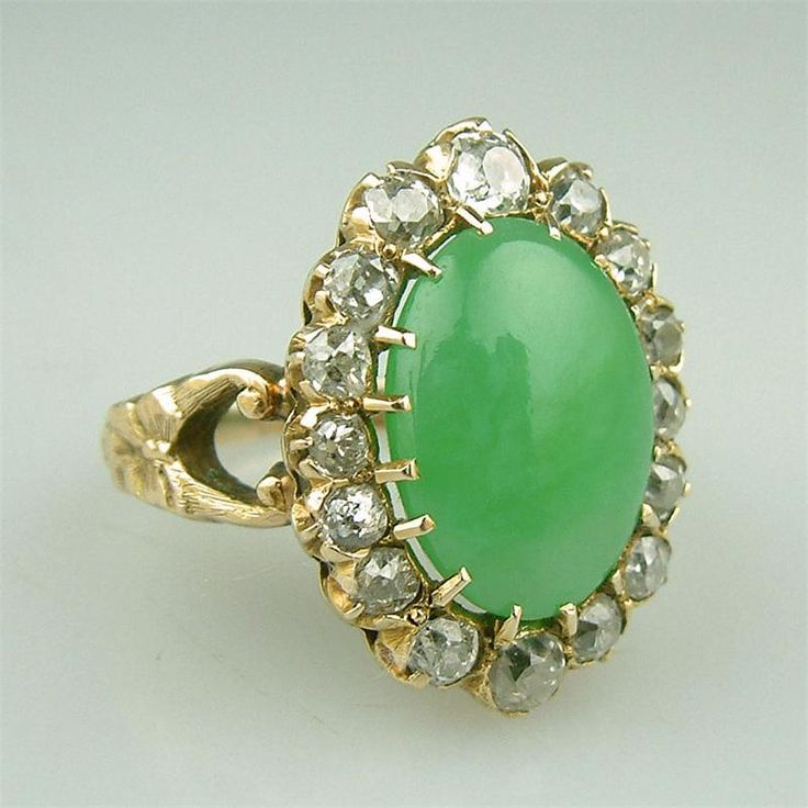 Jade jewelry victorian era jade engagement rings jade for Jade wedding ring