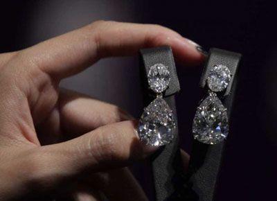 harry winston diamond jewelry | Harry Winston D Internally Flawless Diamond Earrings