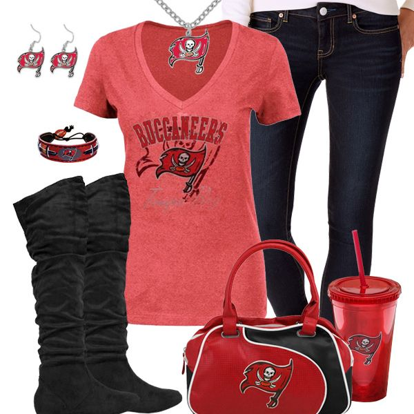 Tampa Bay Buccaneers Fashion - Trendy Chill Buccaneers Fan