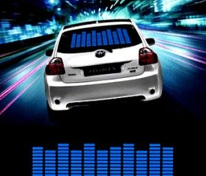 bumper stickers for cars, sound activated lights, window stickers for cars, custom stickers for cars, cool things to buy