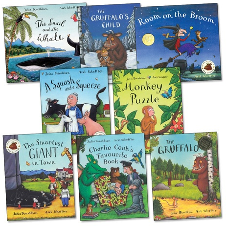 julia donaldson - super rhymes. and paired with axel scheffler's illustrations, you can't go wrong.: Scheffler Illustrations