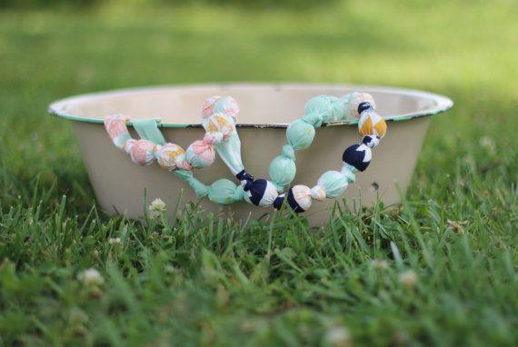 Desert Crystal Teething/Nursing Necklace by TinyNoseLittleToes