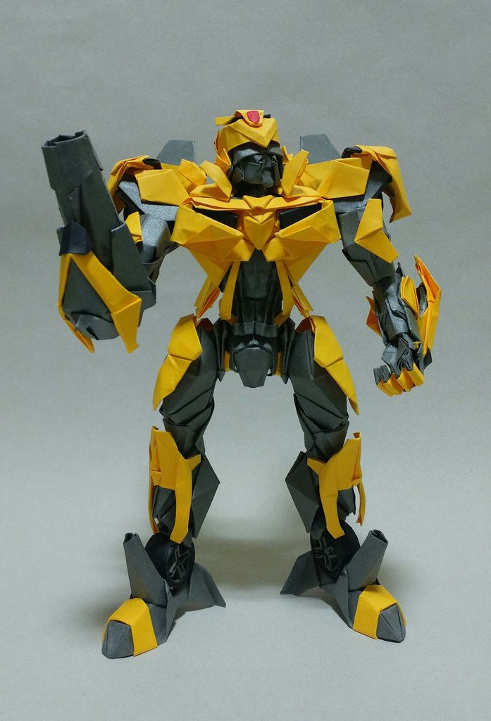 Bumblebee Using 100 More Piece Of Colored Paper By Jeong Jaeil