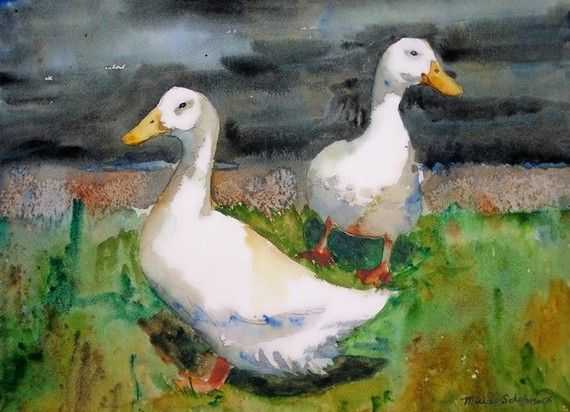 17 Best Images About Miriam Schulman Watercolors On