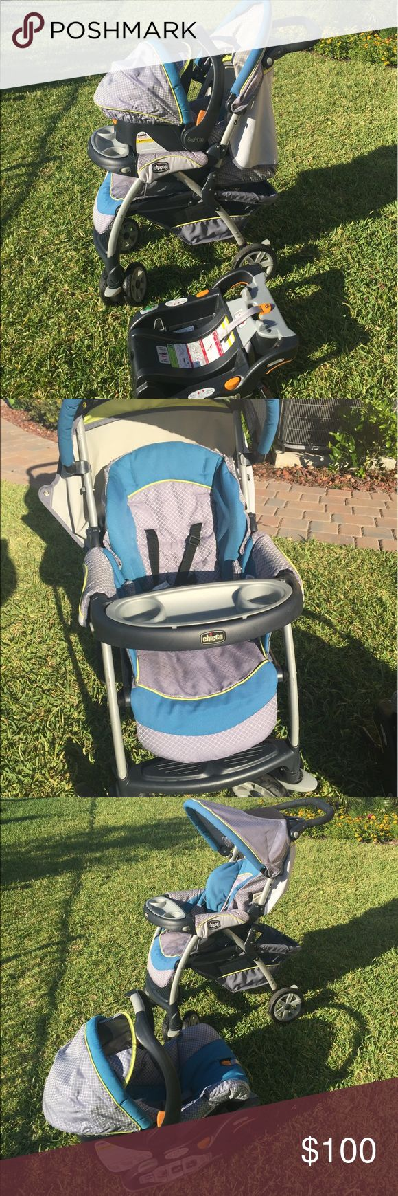 Chicco Stroller and Car Seat Beautiful chicco Stroller, Car Seat and base for sale - in great condition! Other