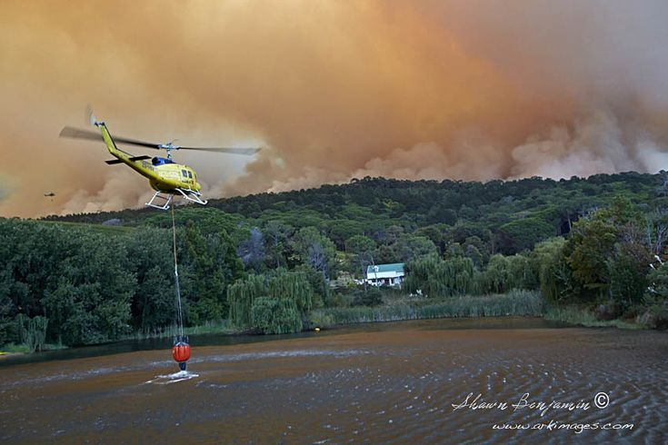 ArkImages.com - Shawn Benjamin Photography | Buitenverwachting | Fire | Helicopter