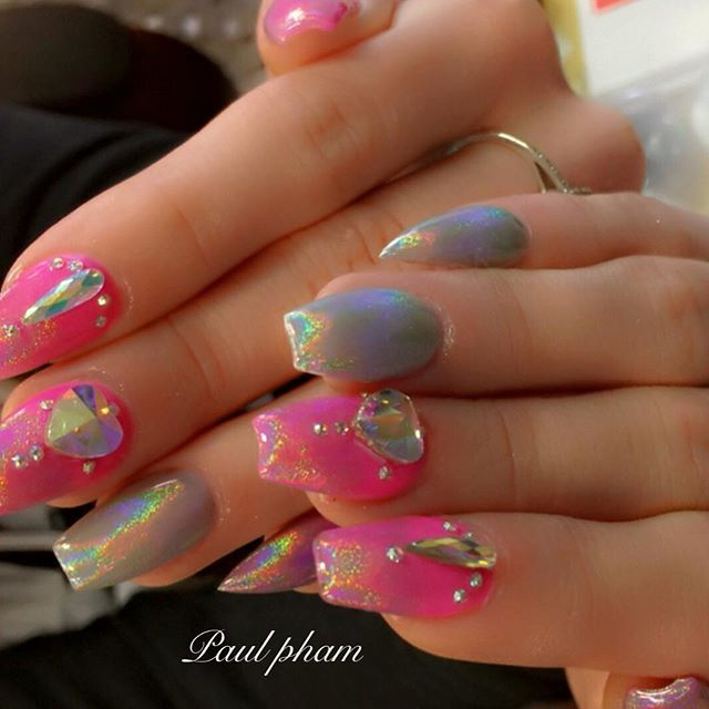 22039 best nails images on pinterest nail designs for Acrylic nails salon brisbane