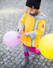 Super Kurteczka dla Malucha, Małe Co Nieco miapka, miapkadesign, małeconieco, kurtkazpatentem, kurtkazkrokiem, kurtkanawiosne, dzianina, yellow, kids, girl, boy, dziewczynka, chłopiec, baby