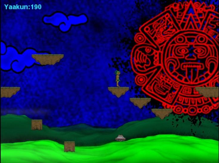 Final demo screenshot, Maya background