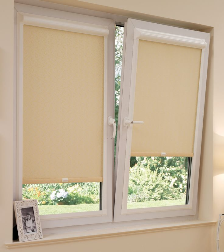 Blind For Door Window Part - 24: Perfect Fit Blinds Are A Great Way Of Dressing Your Windows. Pictured Is  The Roller