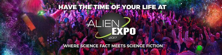 Alien Expo.Three-Day event. From the producers of Alien Con At Sheraton Dallas Hotel and Convention Center. Dallas, TX. May 26 through May 28, 2017. #AlienExpo #alien #scifi #ufo #starwars