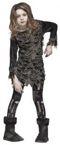 Dottern fick pinna maskeradkläder...  Zombie Costume - Kids Costumes