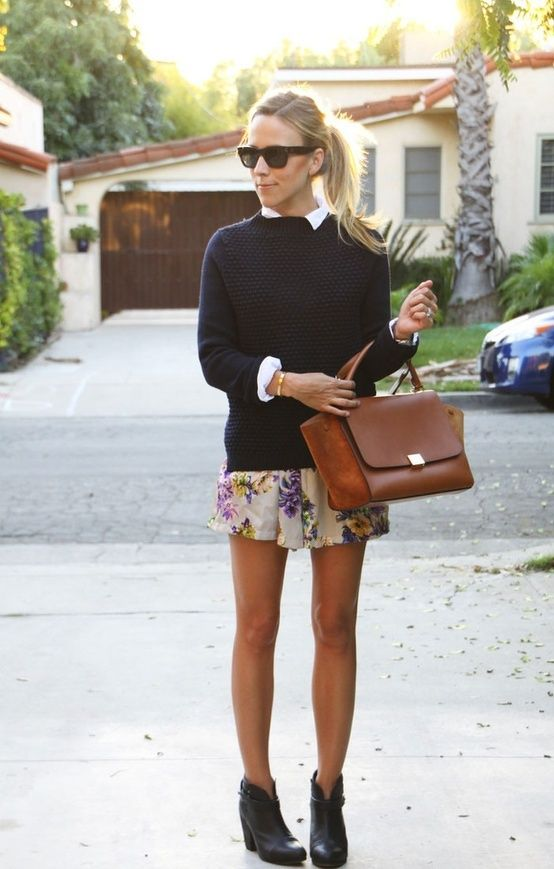 Cute fall sweater to go with your spring wardrobe