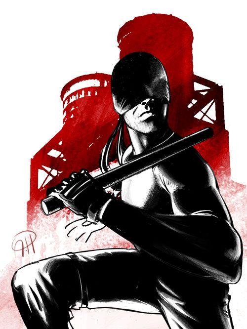 Daredevil TV Show by deralbi on DeviantArt