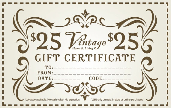 33 best images about gift on pinterest gift certificate for Dollar certificate template