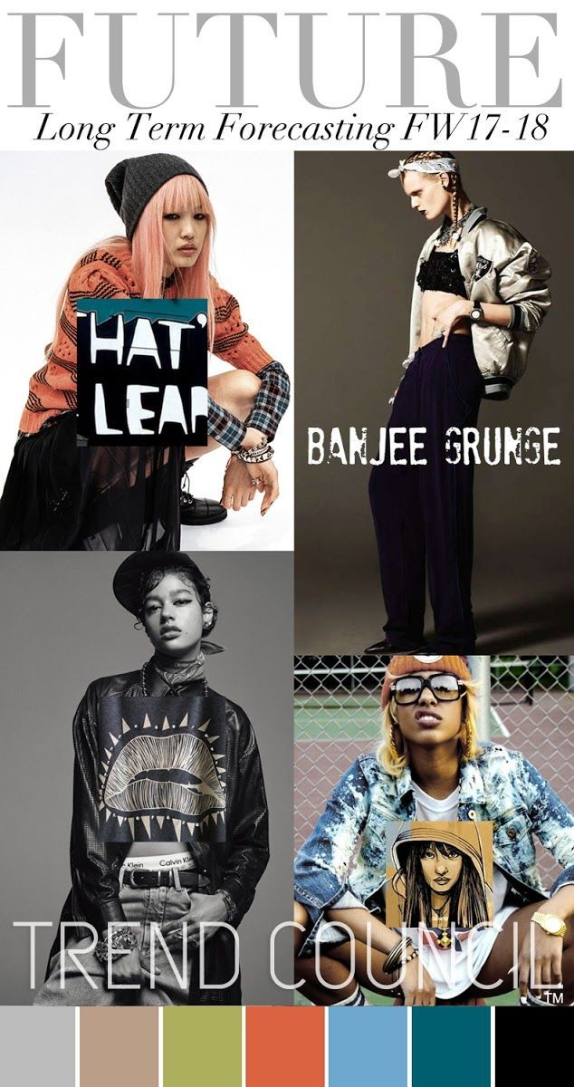 TRENDS // TREND COUNCIL . BANJEE GRUNGE . FW 2017-18 ...