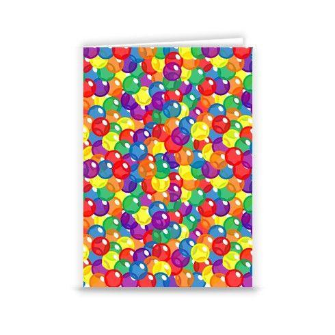 Fizzy Rainbow Greeting Card by fizzyrainbow at zippi.co.uk