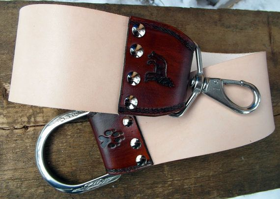 Razor Strop  leather strop for honing straight by HiHorseRanch, $69.00