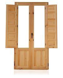 Resultado de imagen para modelos de puertas  en madera y vidrio rusticas