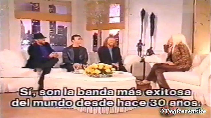Bee Gees -  Interview with Susana Giménez - Argentina 98'