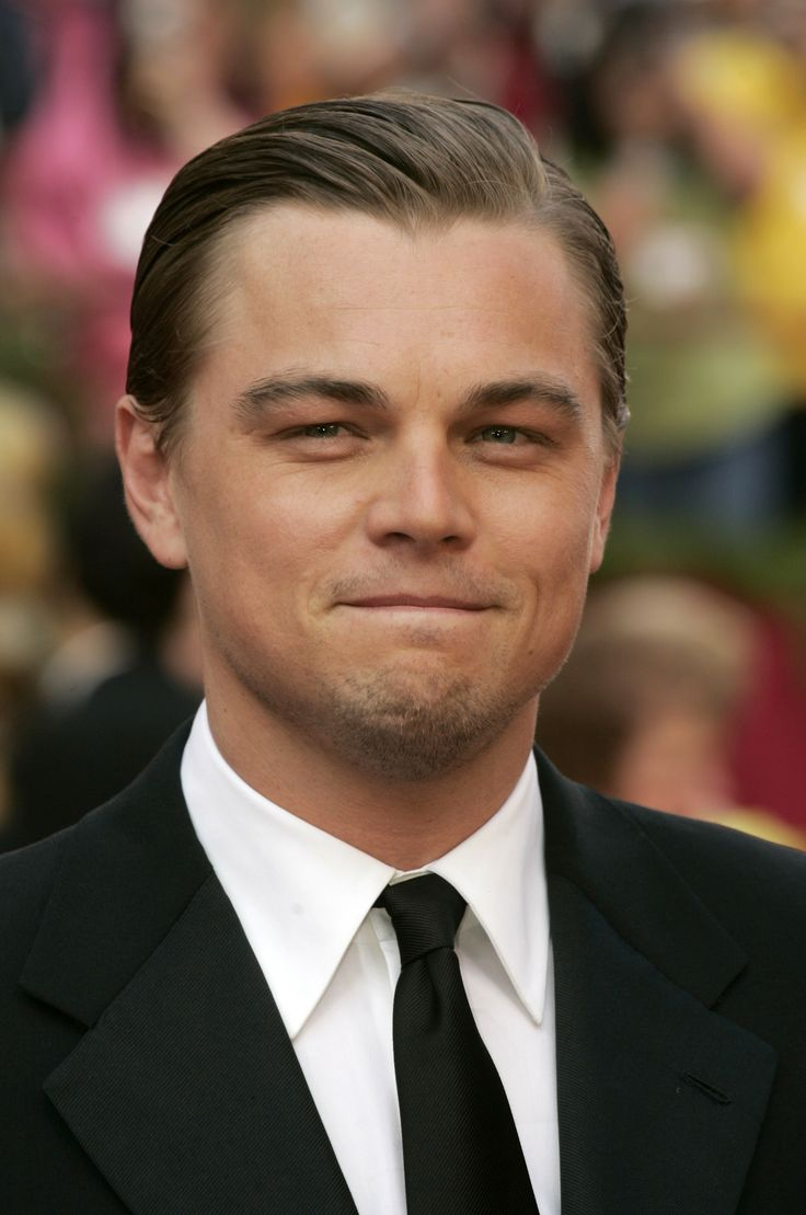 Leonardo DiCaprio  l  Suited Up + Hairstyles