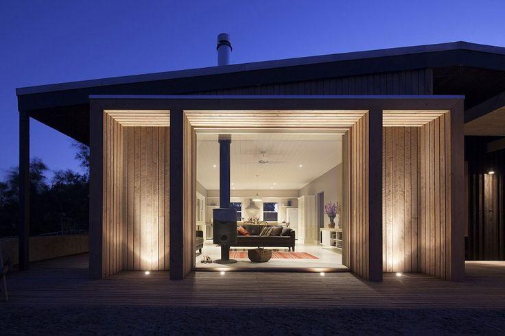 Andere Länder, andere Baustile. In Australien bekam ein Haus dank einem formschönen Holzanbau mehr Wohnfläche.