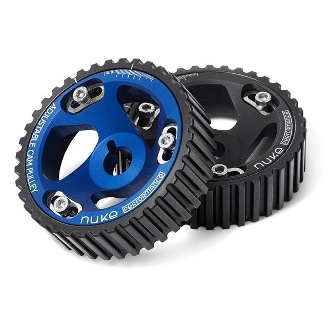 Our Adjustable cam pulley.