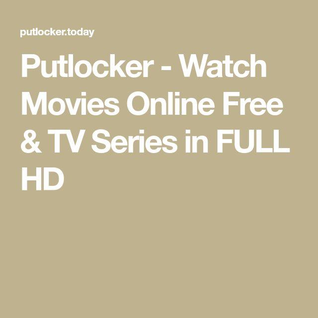 Putlocker - Watch Movies Online Free & TV Series in FULL HD