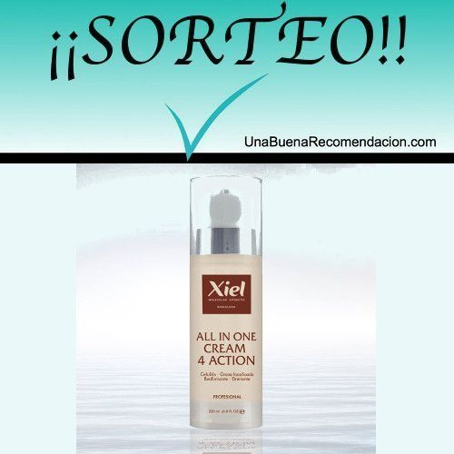 Sorteo All In One 4 Action de Xiel Molecular Cosmetic