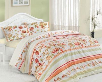 Купить постельное белье ALTINBASAK MELISA красное 70х70 1,5-сп от производителя Altinbasak (Турция)