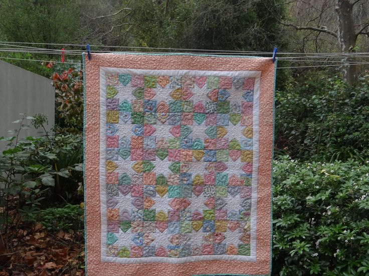 1930s quilt for baby Isobel Jaine xx