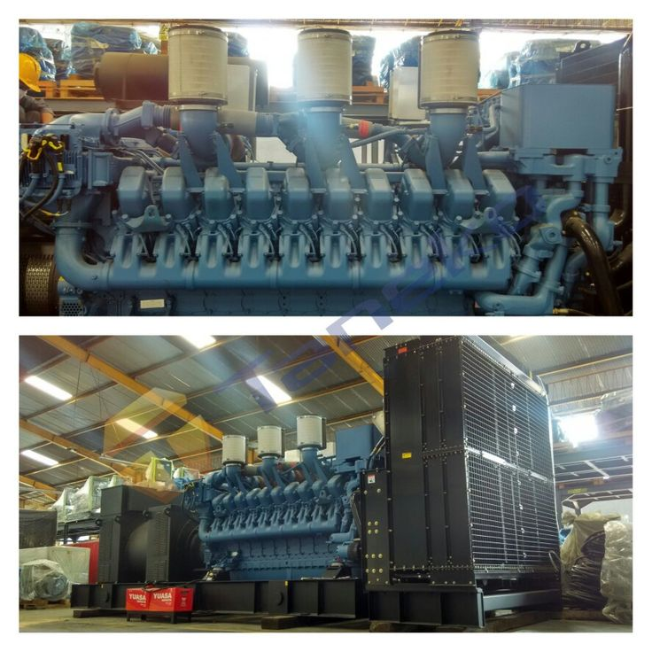 Genset MTU 3000 kVA