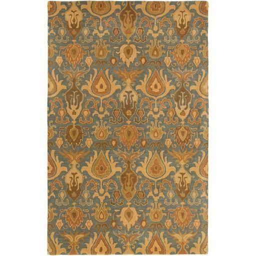 Caesar CAE-1165 Green Damask Rug  #decor #rugs #interiorstyling #homedecor #homedesign #fab #floorcoverings #floordecor #homeideas #floors