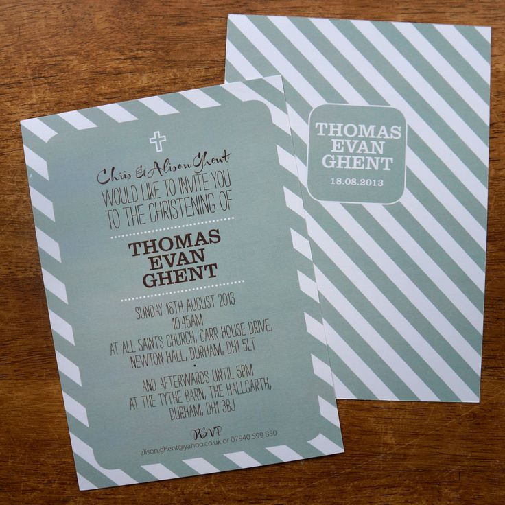 Are you interested in our personalised christening