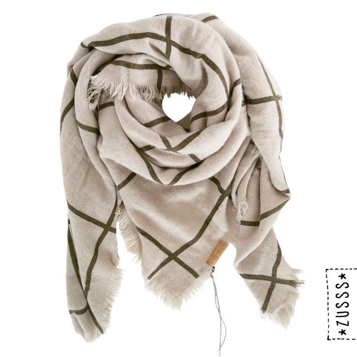 Zusss | Grote vierkante sjaal | http://www.zusss.nl/?s=grote+vierkante+sjaal&post_type=product