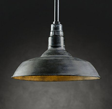 Industrial lights (are not cheap!). @Adam M Stagnaro