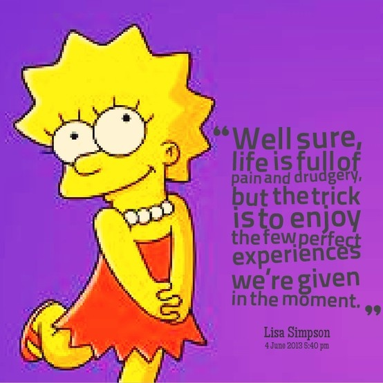 simpsons dating quotes The best quotes from the wittiest and most quotable show on television.