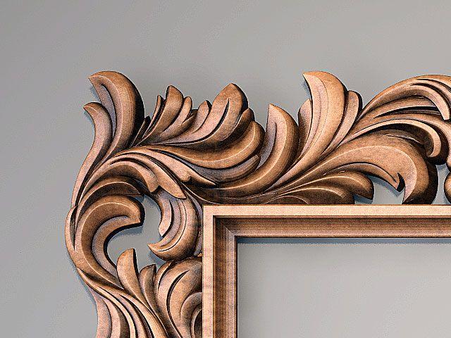 Резные деревянные рамы | Орнаментум