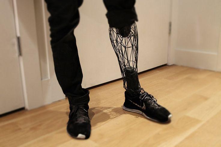 leg 3d printed