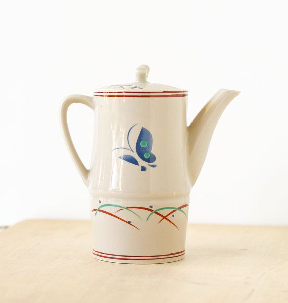 Vintage Asian Pitcher Butterfly Sushi by TheOtherLifeVintage, $7.00