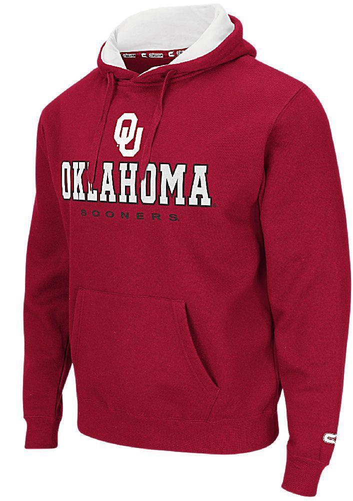 Oklahoma Sooners Crimson Zone 2 Embroidered Hoodie $49.95