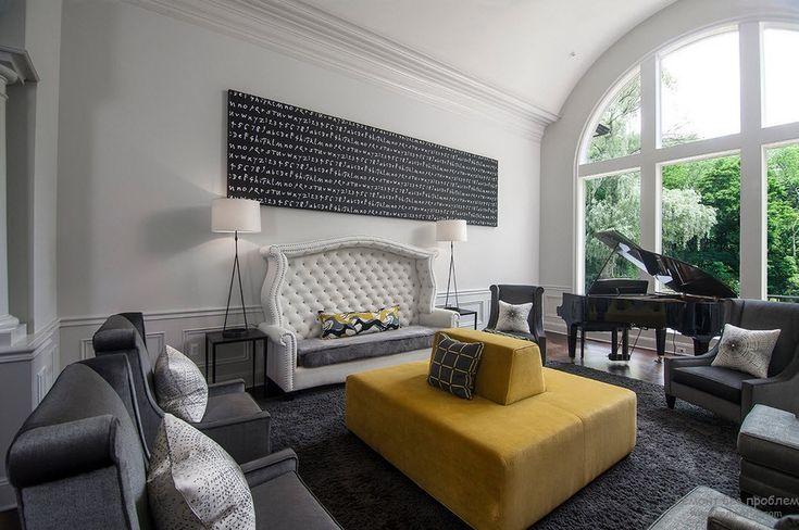 Эффектное окно во всю стену, присущее стилю барокко
